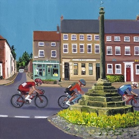Tour de Yorkshire Artwork