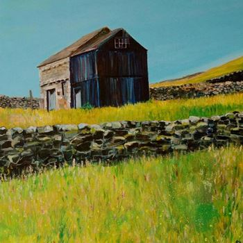 Landscapes, barns and buildings